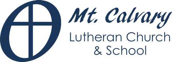 Mt. Calvary Lutheran School Retina Logo