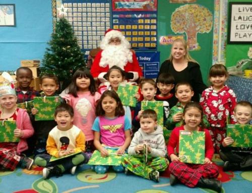 Santa Visits MCL