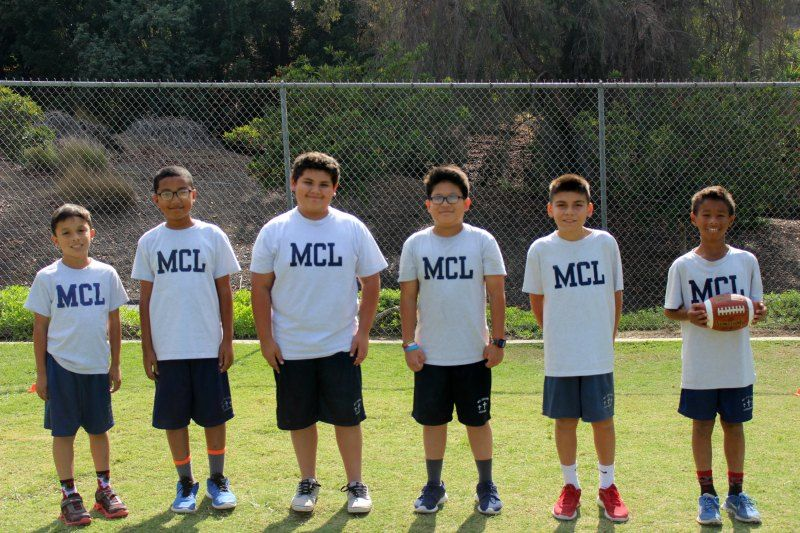 MCL JV Flag Football Team
