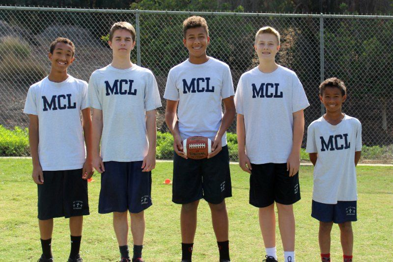 MLC V Flag Football Team
