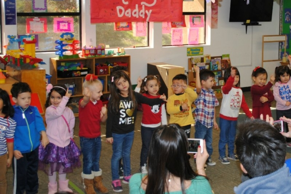 Parent's Day In Preschool