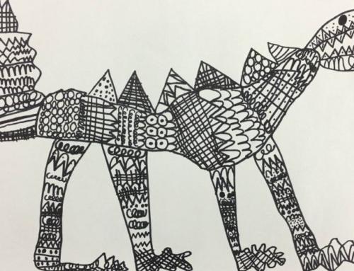 Line Art Creatures