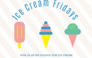 Mt. Calvary ice cream Fridays
