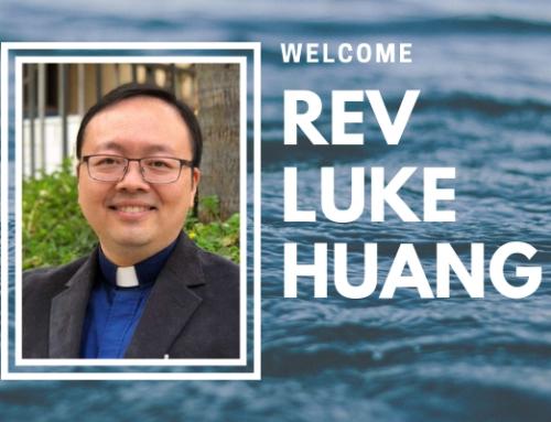 Welcome Pastor Luke